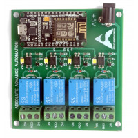 NodeMCU Based 4-Channel Relay Board Micro Controller Board Electronic