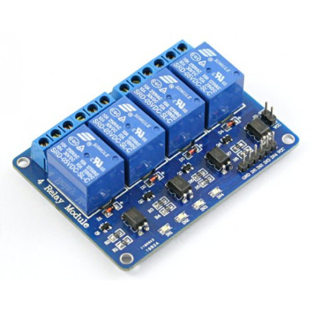 4 Channel – 5 V Relay Module