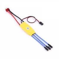 30A Esc for Brushless Motor Speed Controller [Color may vary]