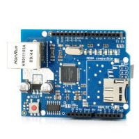 Ethernet Shield W5100 Network Expansion Board W/ Micro Sd Card Slot For Arduino