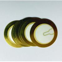 Piezoelectric Sensor/Buzzer/Transducer/Disc 27mm Piezo - Set Of 10
